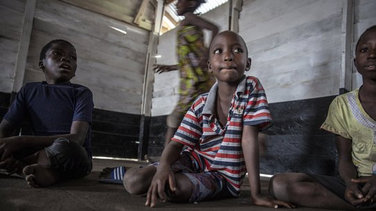 Samuel refugee in DR Congo - War Child programmes