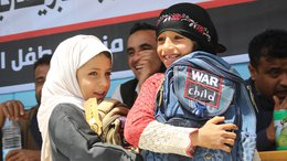 War Child Uk in Yemen - supporting children and their families