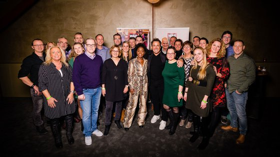 Limpens partner War Child ambassadeurs Marco Borsato Michaela DePrince